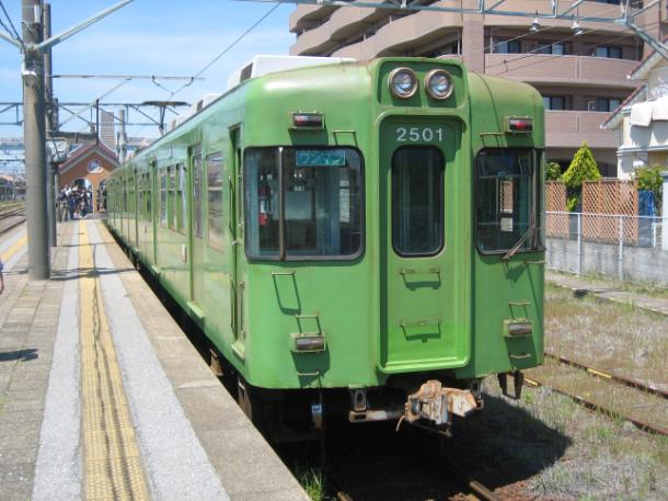 日本千葉縣銚子電鐵車輛示意圖(翻攝自維基百科)