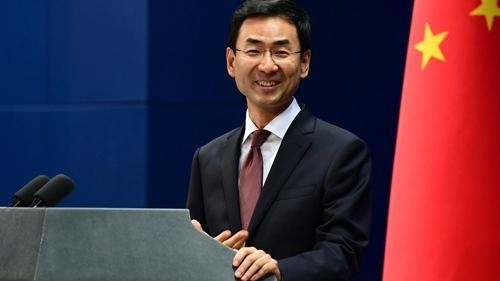 China Foreign Ministry Spokesman Geng Shuang