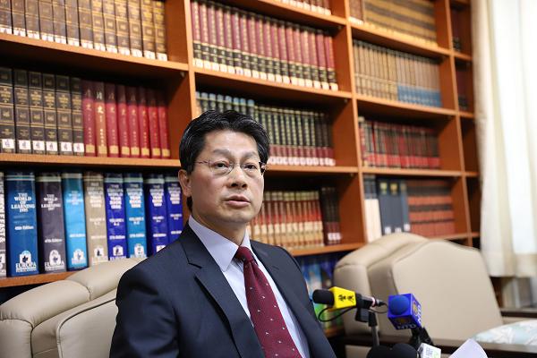 MOFA spokesman Andrew Lee