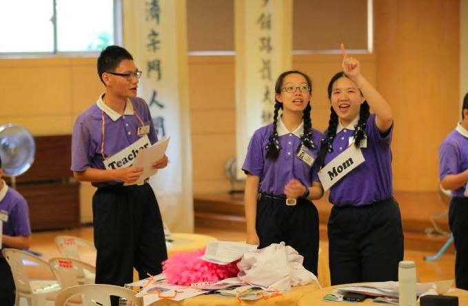 台灣大專院校學生共組海外服務團(照片來源:慈濟基金會)