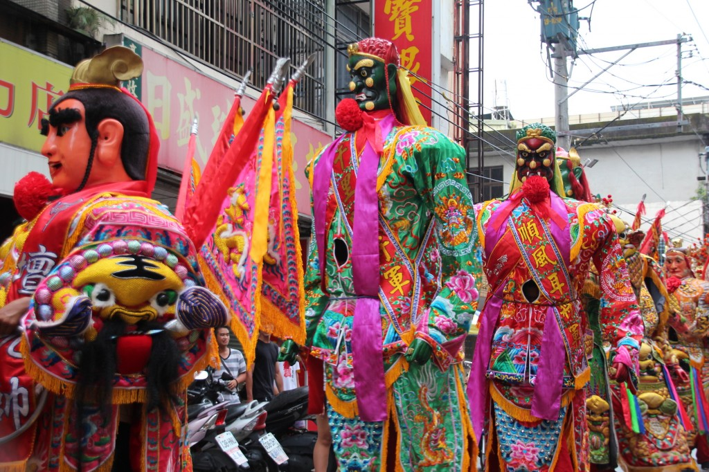 The temple parade to celebrate the birthday of the Lord Guan in the Pu Ji Temple kicks off on August 4