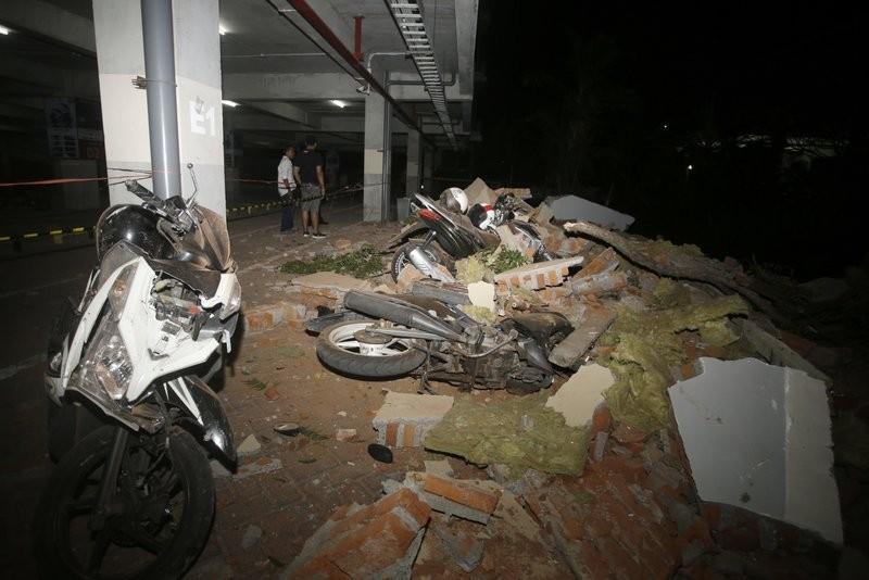 龍目島地震,鄰近峇里島亦難倖免(美聯社)