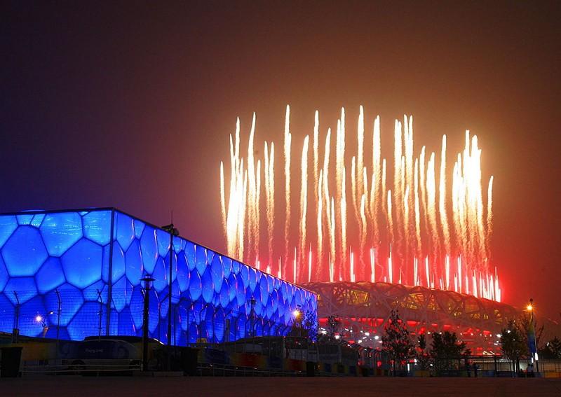 2008北京奧運場館(圖/wikimedia commons)