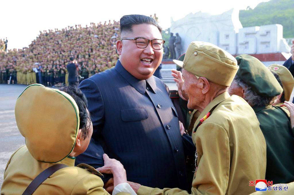 金正恩(《朝鮮中央通信》。美聯社提供)