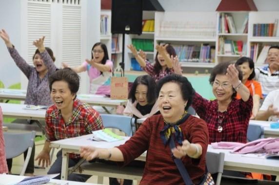 三重區樂齡學習示範中心辦理新北動健康講座 (新北市政府教育局提供)