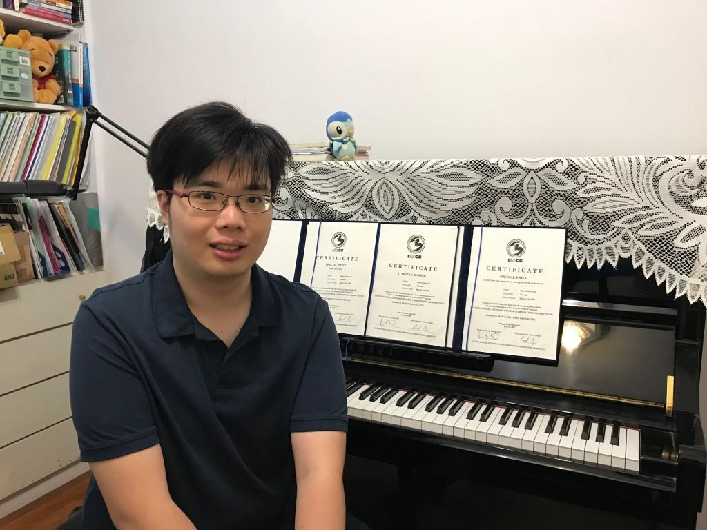 Award-winning NTNU graduate Joe Lin.