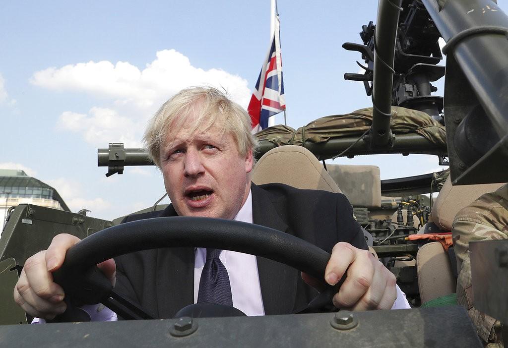 英國前外長鮑里斯·強森(Boris Johnson)(美聯社)