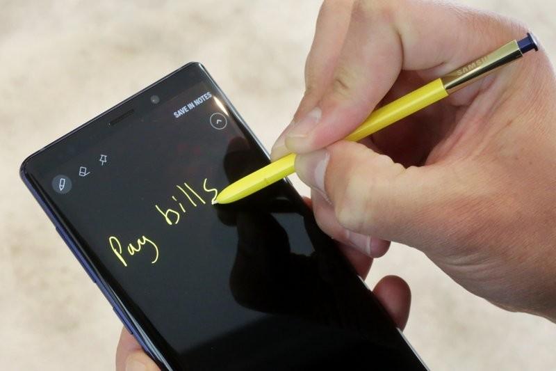 三星推新款Galaxy Note 9 (美聯社)