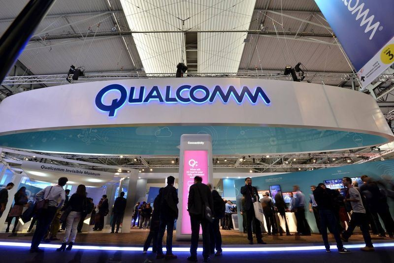 A Qualcomm booth (Photo credit: CNA)