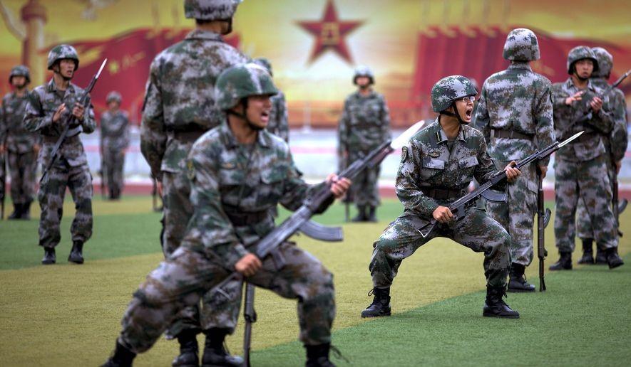 China's People's Liberation Army. file Photo