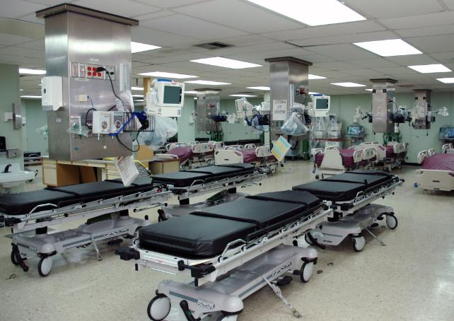 加護病房示意圖(翻攝自維基百科)