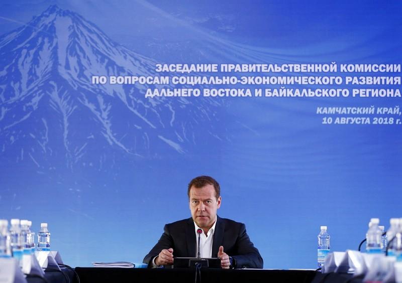 俄國總理梅德韋傑夫(Dmitry Medvedev)