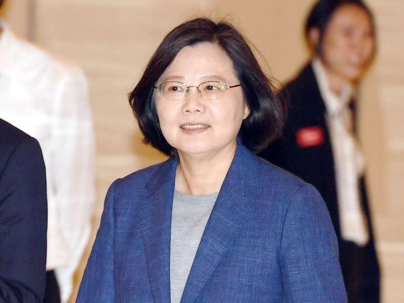 總統蔡英文(中央社)