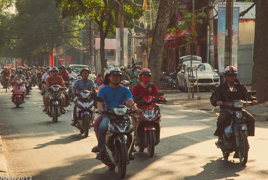 熱心的台中機車騎士曾伸出援手,陳維海表示很感動(照片來源:pixabay)