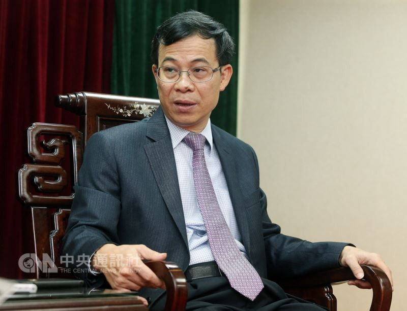 Departing head of Vietnam Economic and Cultural Office in Taipei Tran Duy Hai (CNA)