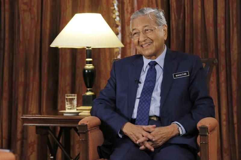 馬國首相馬哈迪(美聯社)