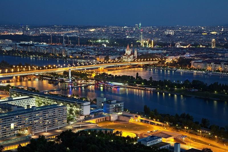 奧地利首都維也納(圖/Pixabay)