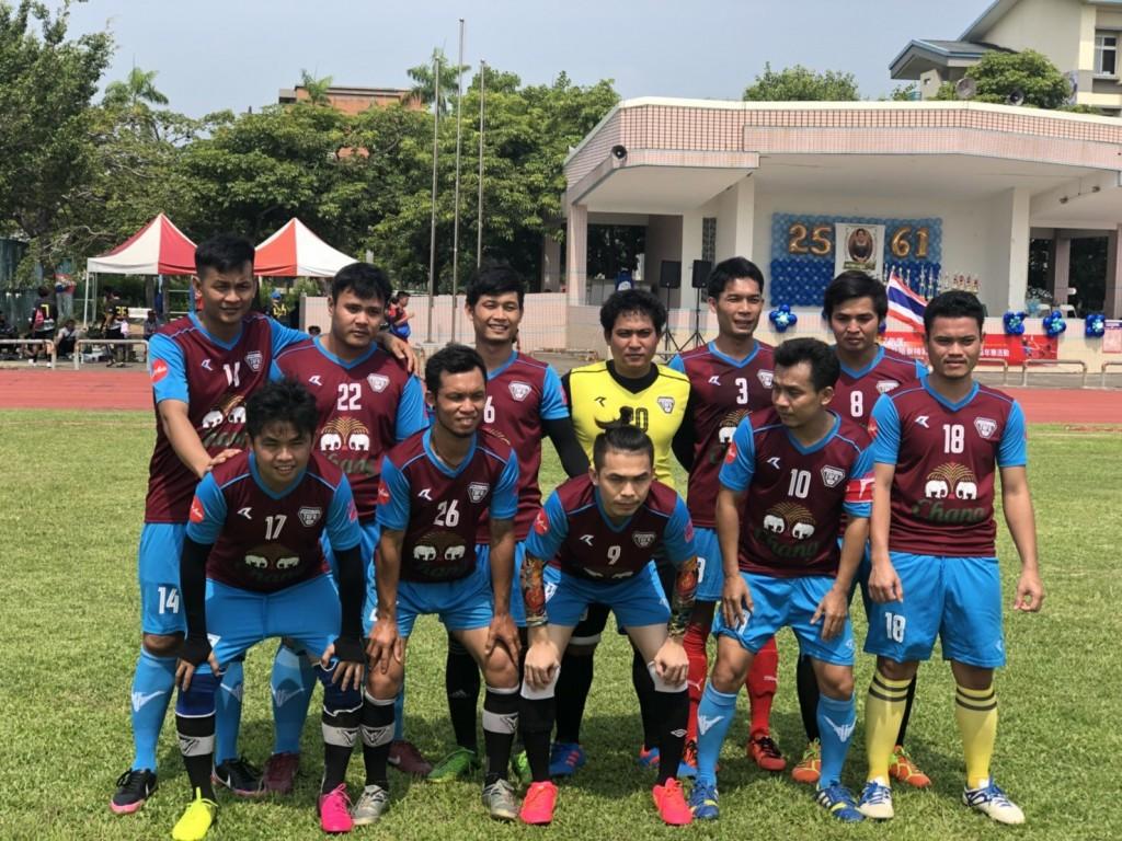 本次參賽隊伍包括32隊藤球隊、8隊足球隊及16隊排球隊(圖片來源:泰國貿易經濟辦事處勞工處)