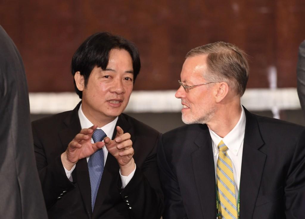 AIT新處長:持續強化臺美夥伴關係及友誼