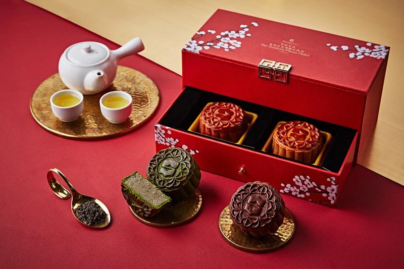香格里拉台南遠東飯店 手繪公益月餅禮盒