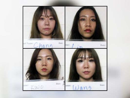 Mug shots of suspects. (Photo from Guam Department of Corrections)