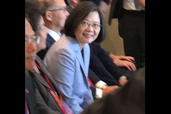 President Tsai Ing-wen. (Photo byWuPei-yun)