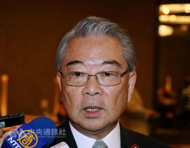 Chairman Rock Hsu (許勝雄) of the Third Wednesday Club (三三會) (Photo by CNA)