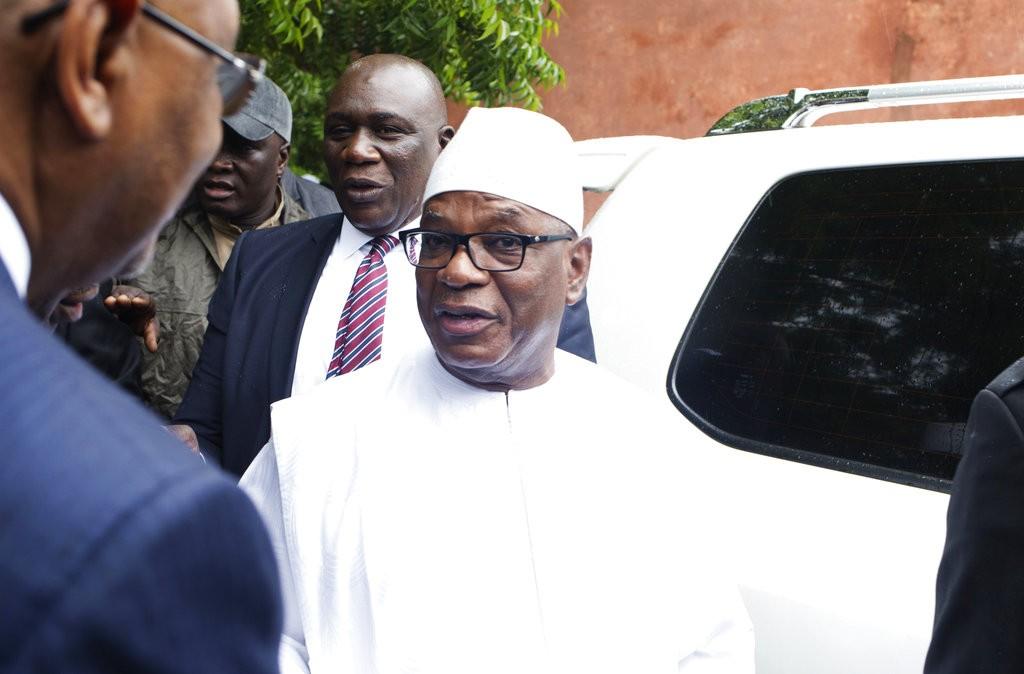 馬利現任總統易卜拉欣·布巴卡爾·凱塔(Ibrahim Boubacar Keïta)(美聯社)