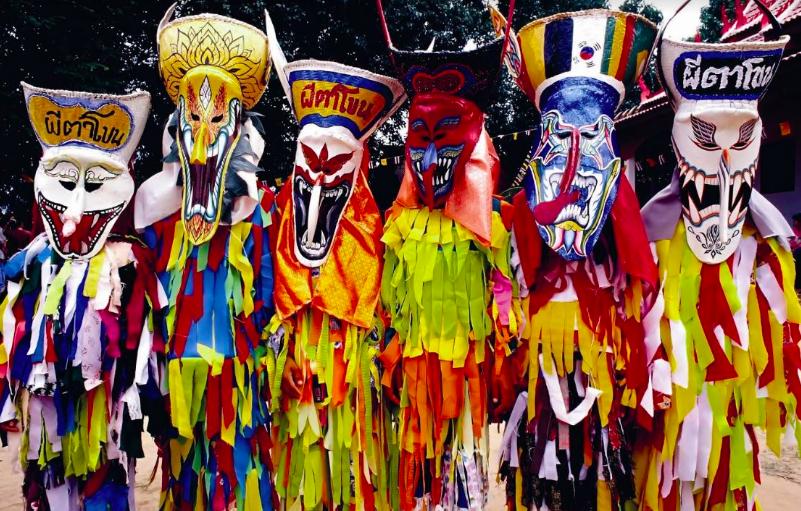 桃市府將舉辦泰國「鬼臉節」半日體驗(圖片來源:泰國觀光局)