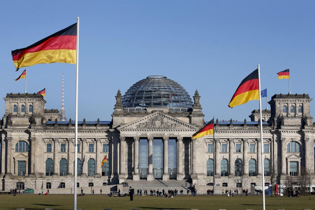 Germany's parliament, the Bundestag, in Berlin.