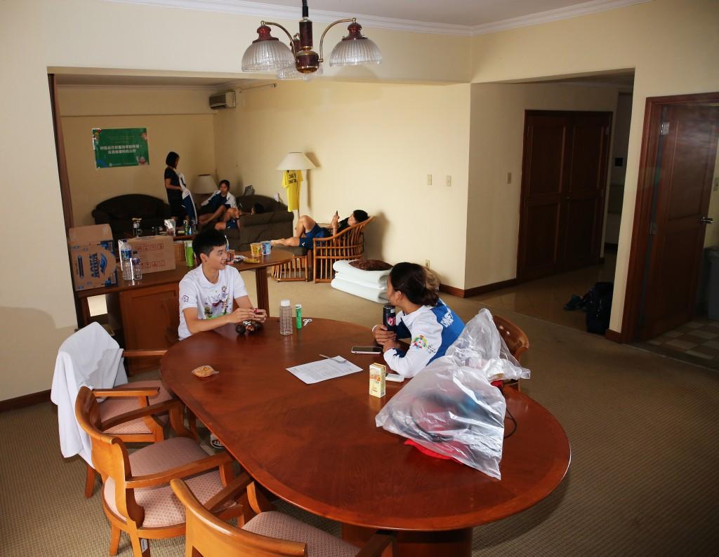 《亞運》代表團入住蘇丹公寓 全力備戰亞運