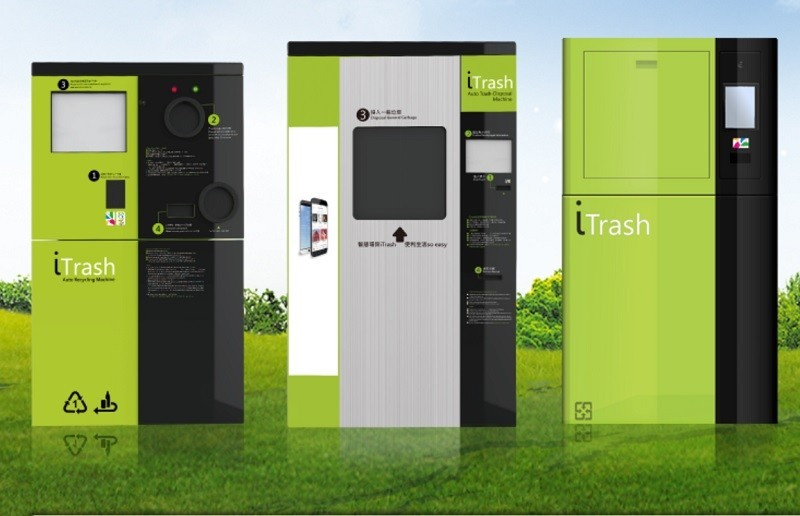 Self-service garbage collection system demonstrated in Taipei