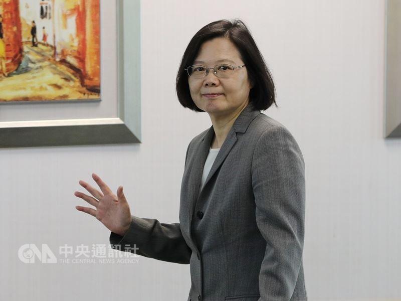 總統蔡英文(圖片來源:中央社)