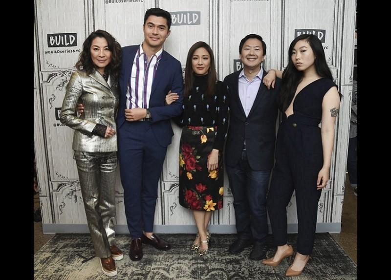 「瘋狂亞洲富豪」主要演員(美聯社)