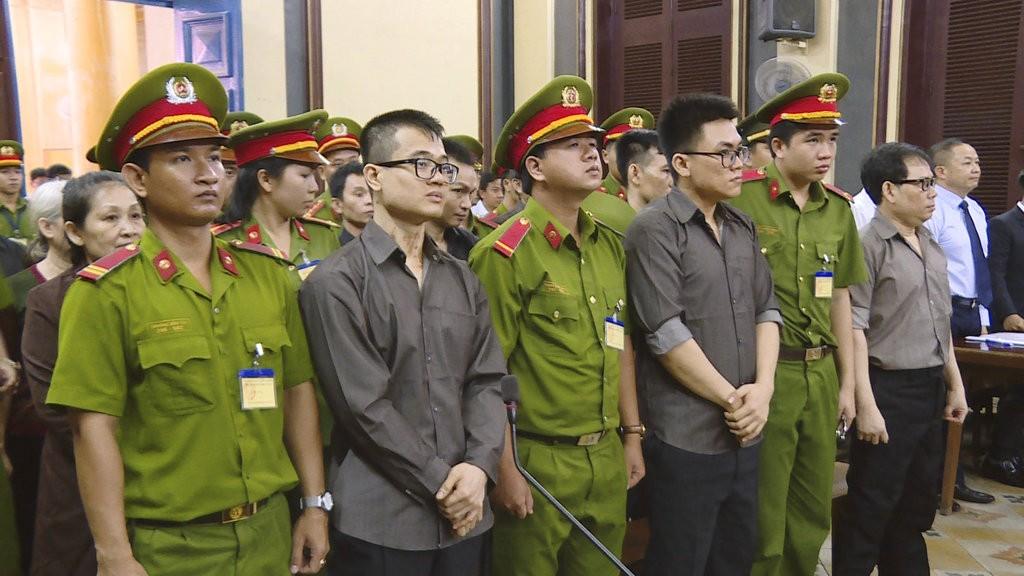 反台越南奸逆開庭(美聯社)