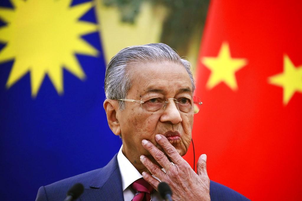 馬來西亞總理馬哈迪(圖片來源:美聯社)