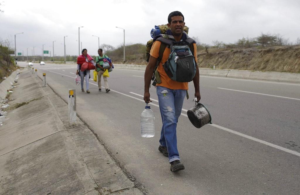 委内瑞拉難民(美聯社)
