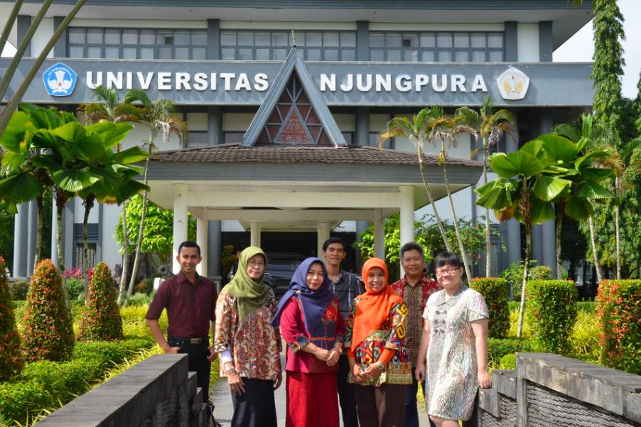 科技部助台印產學合作(照片來源:Universitas Tanjungpura)