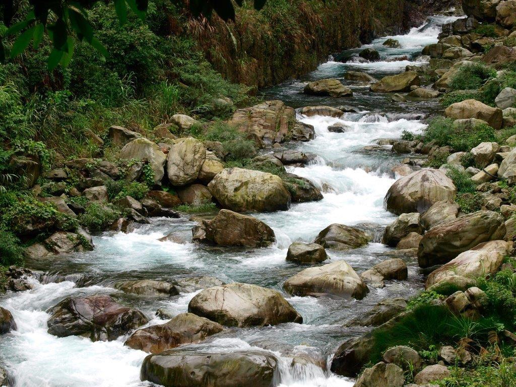 八仙山國家森林遊樂區十文溪。(照片由林務局提供)