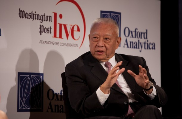 Tung Chee-hwa (Image from CUSEF)