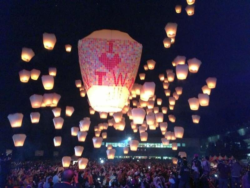 Second leg of 2018 Pingxi Sky Lantern Festival in New Taipei to take place on Mid-Autumn Festival