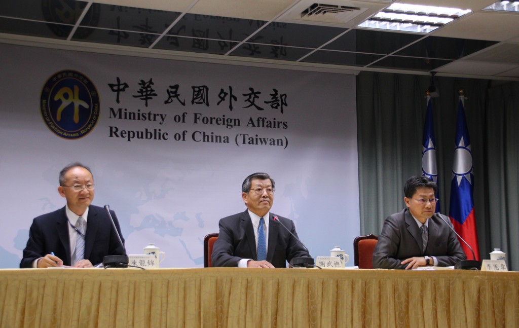 外交部29日舉行記者會說明今年聯合國大會期間我國政府的規劃及做法(攝影:鄧佩儒)