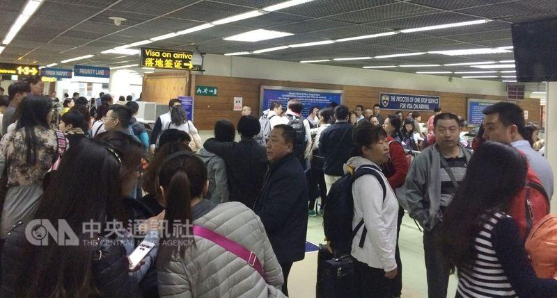 自今年8月1日起,泰國旅客來台免簽證停留天數由30日縮短為14日(圖片來源:中央社)