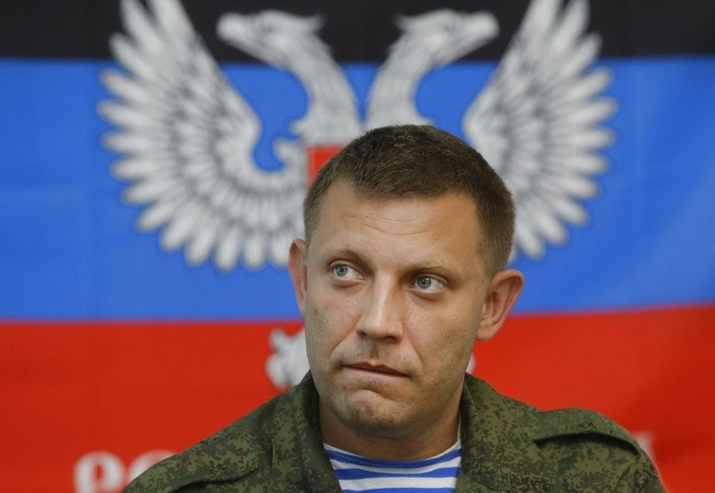 自稱頓內次克人民共和國領袖的亞歷山大·扎卡爾臣科(Alexander Zakharchenko),遭炸彈攻擊死亡(美聯社)