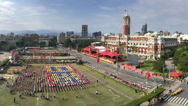 Taiwan's Double Ten celebrations.