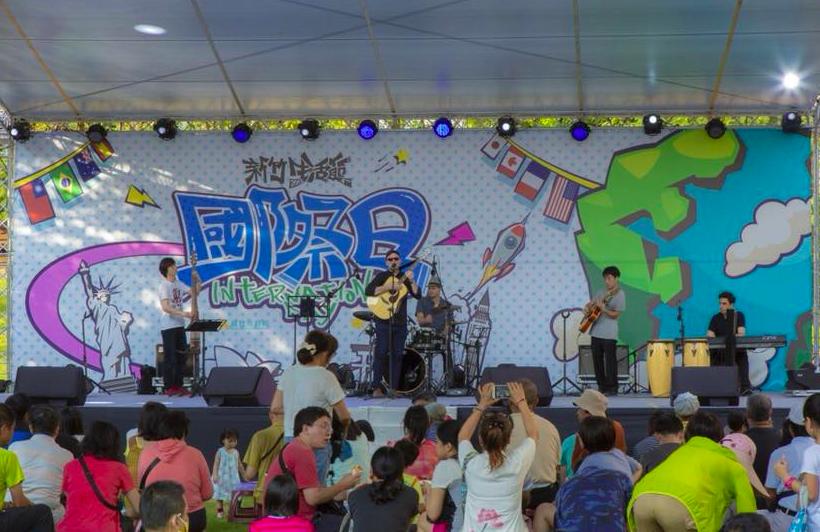 新住民於2018新竹生活節活動上,熱情表演藉此表達對新竹的熱愛(照片來源:新竹市府)