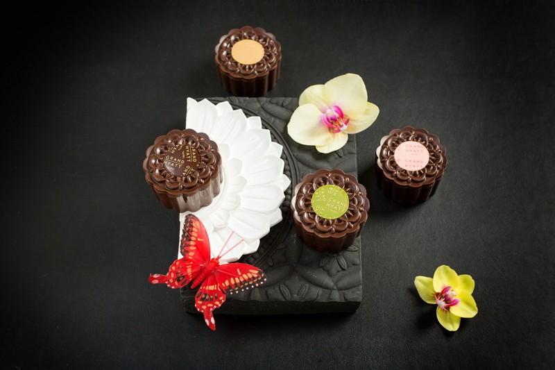 中秋新選擇 台北君悅酒店「巧克冰心月餅」