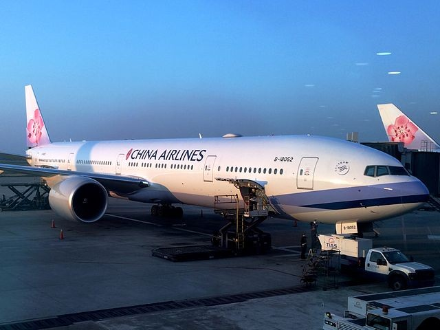 China Airlines Boeing 777-300ER.