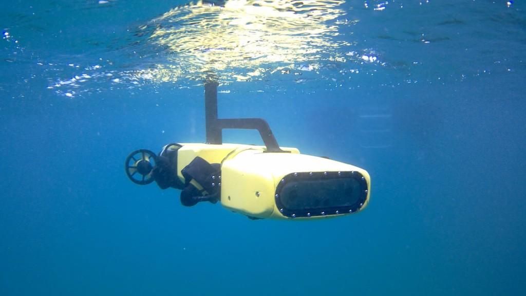 RangerBot. (照片來自Great Barrier Reef Foundation)