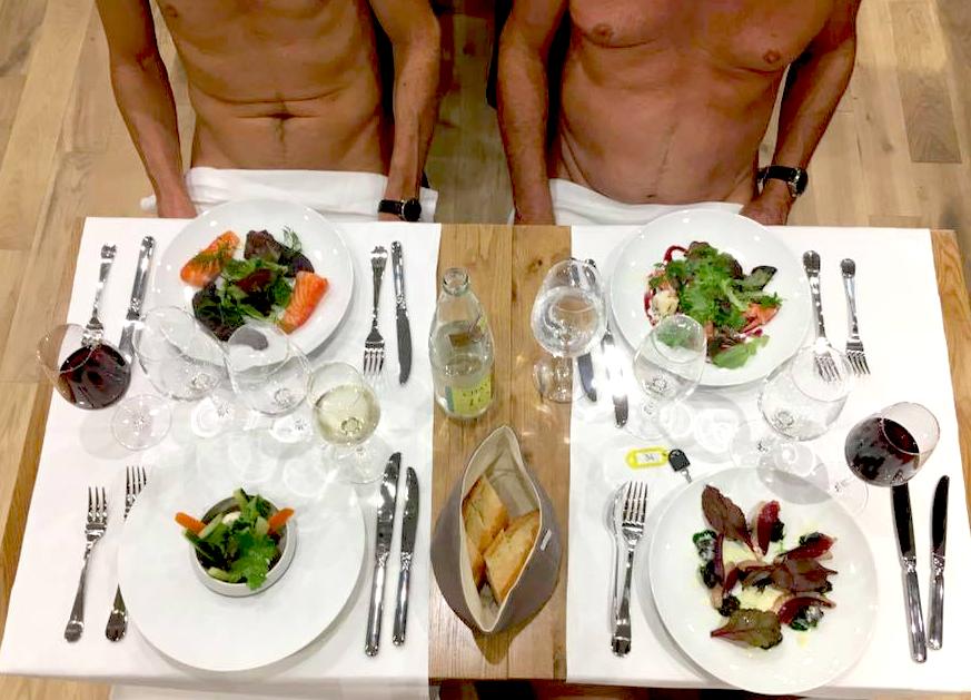 裸體餐廳在全球蔚為風潮(照片來源:O'naturel)